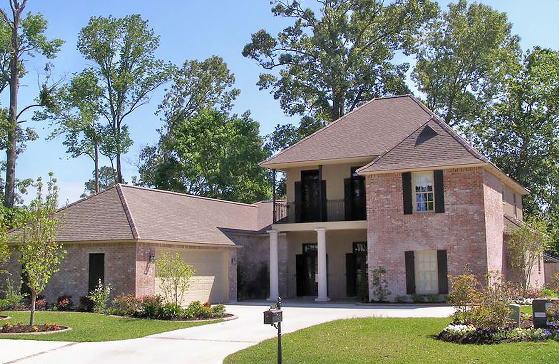custom home designs baton rouge